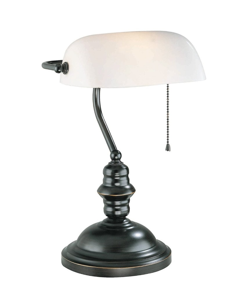 Lite Source LS-224D Bankers Lamp
