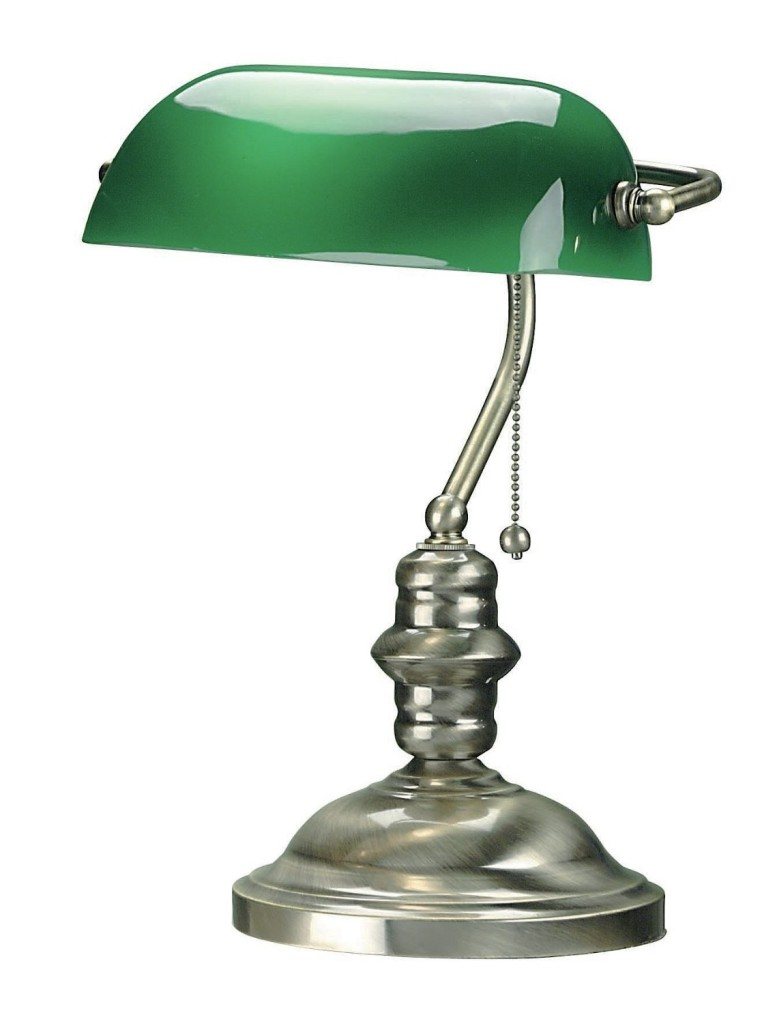Lite Source LS-224PB Bankers Lamp