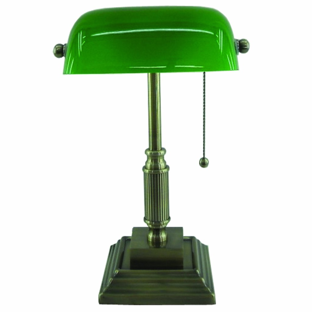 Normande Lighting AM3-624A Bankers Lamp
